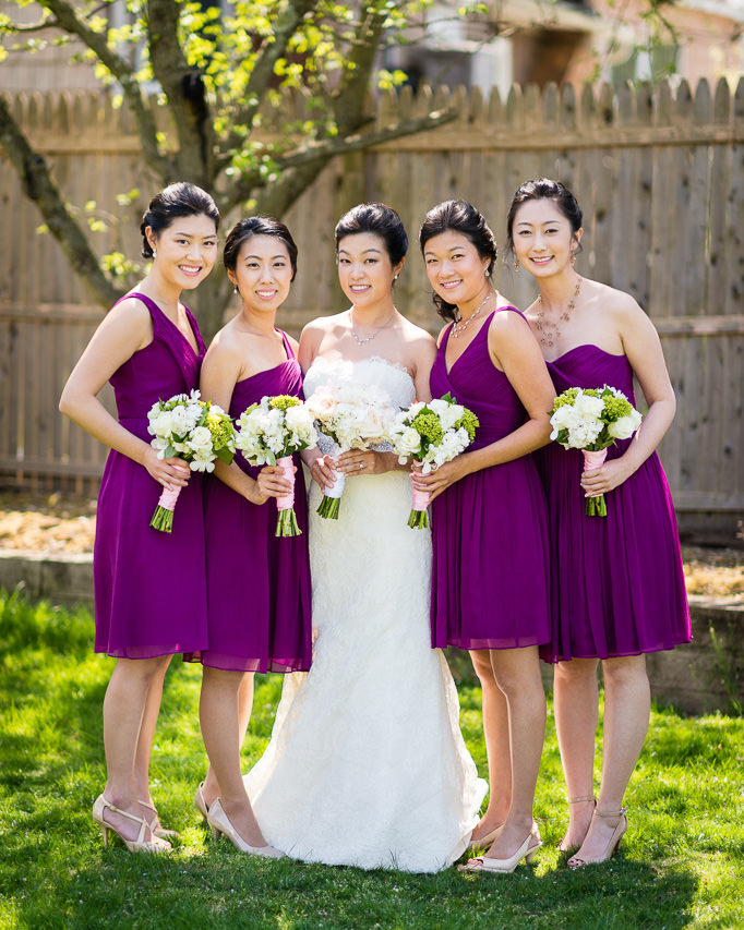 Bridesmaids & Bouquets : Inspiration