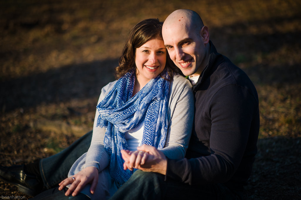Ft Tryon Park Engagement : Carrie & Mike