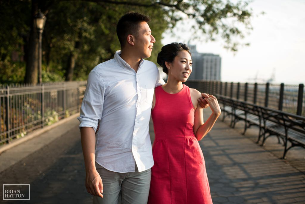 Brooklyn Heights Engagement Session