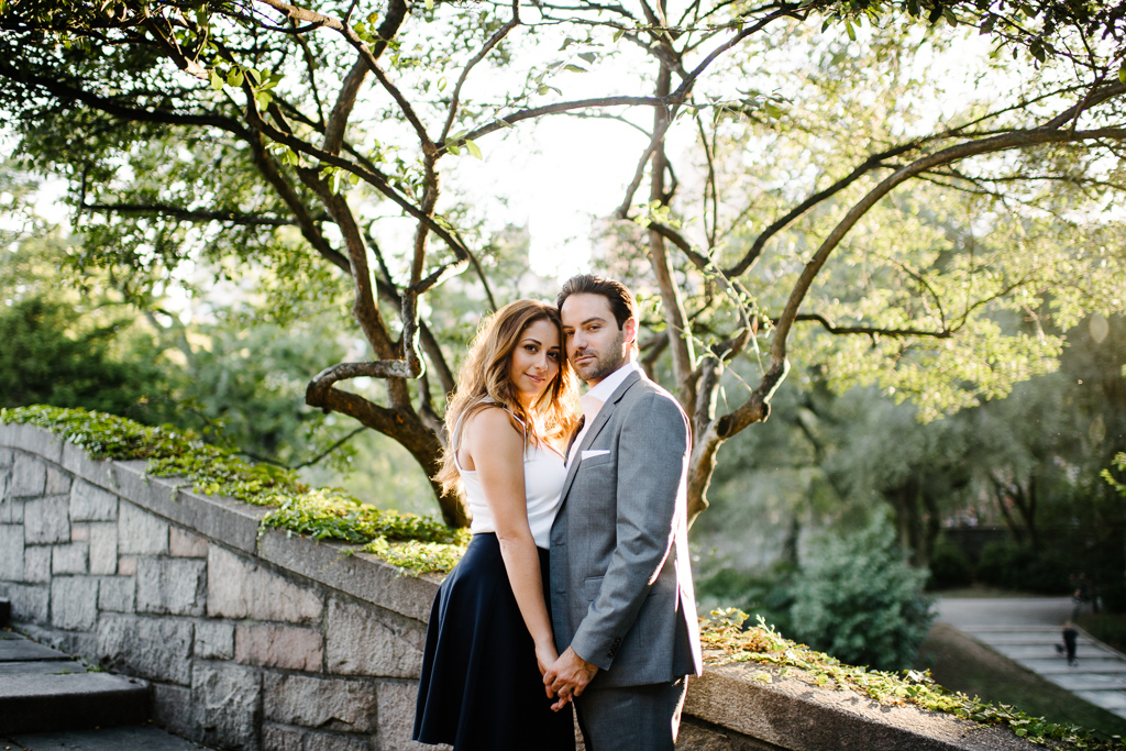 Carl Schurz Park Engagement Session