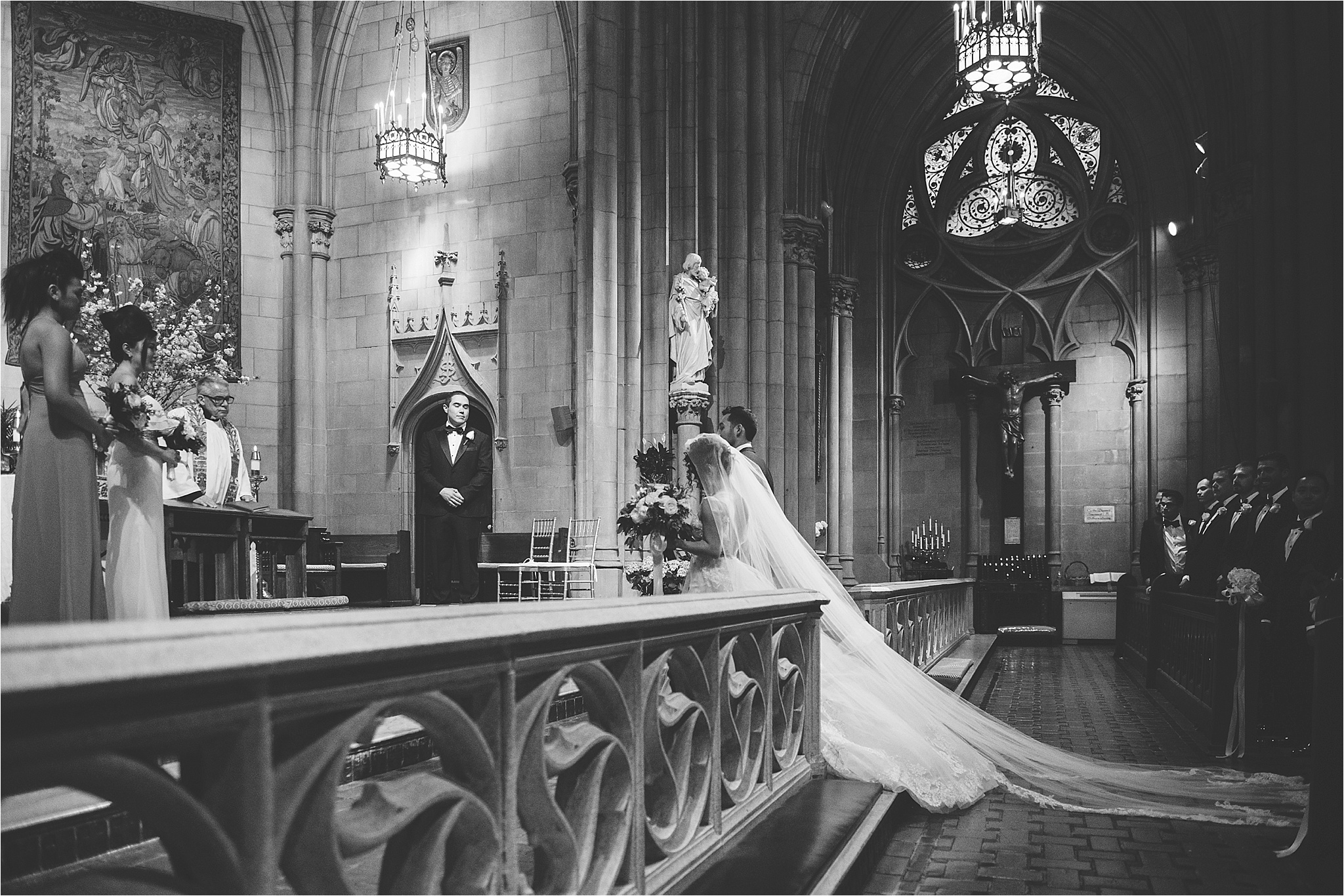 Church of the Blessed Sacrament Wedding, Brian Hatton Photography