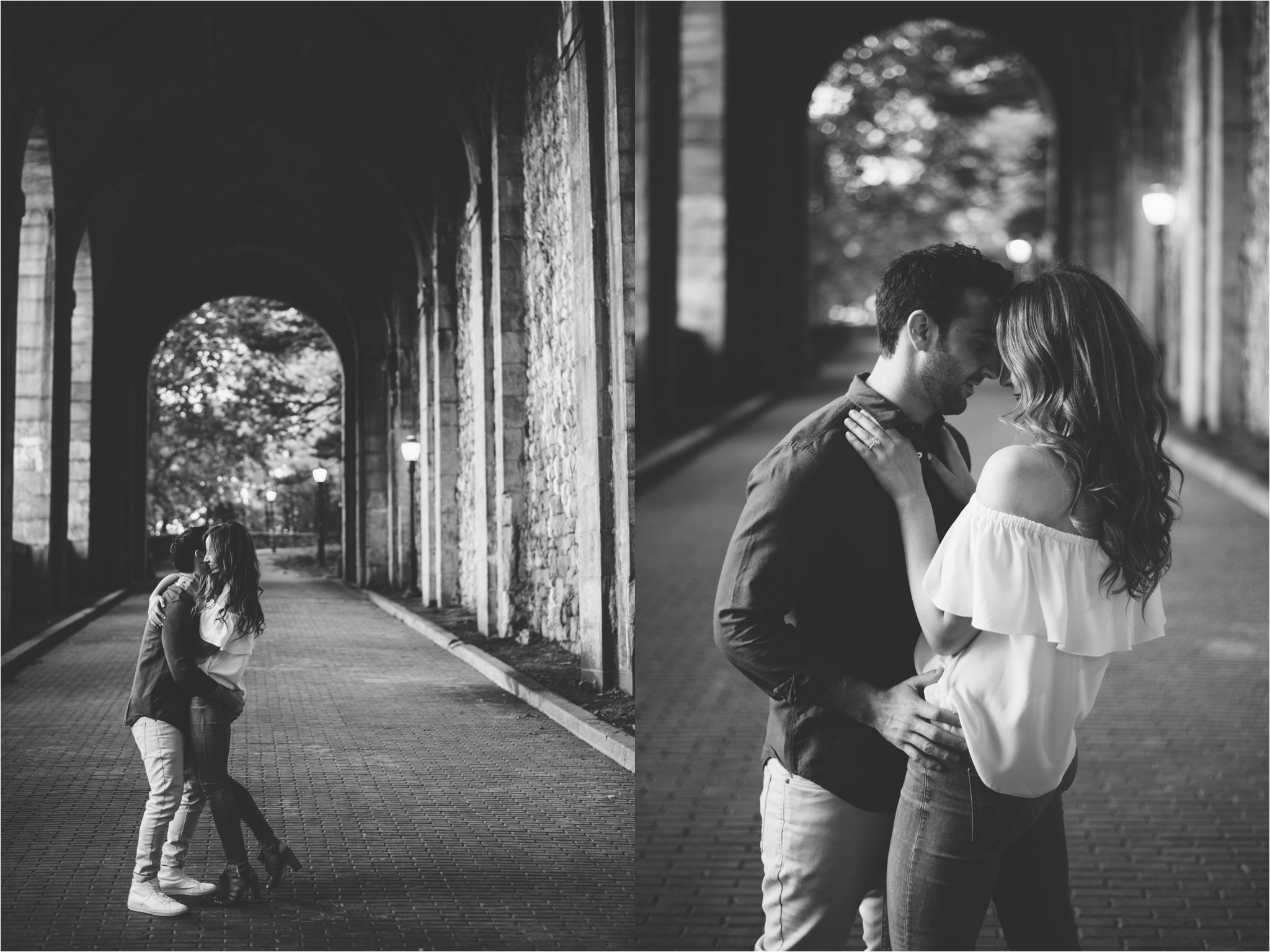 NYC Engagement Locations, Fort Tryon Park, Brian Hatton Photography