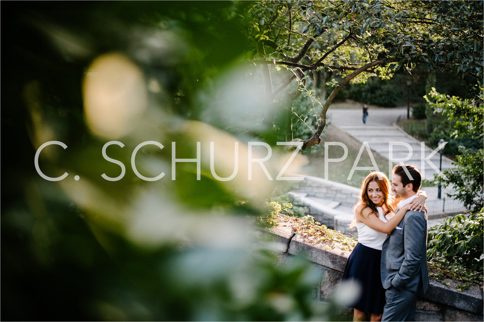NYC Engagement Locations, Carl Schurz Park, Brian Hatton Photography