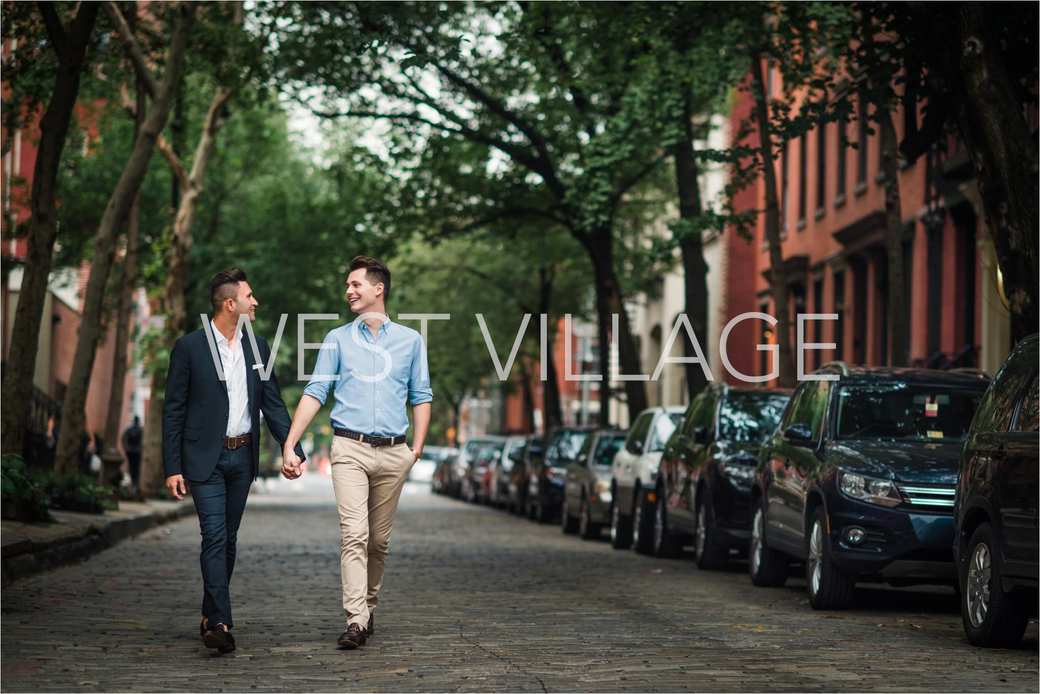 NYC Engagement Locations, West Village, Brian Hatton Photography