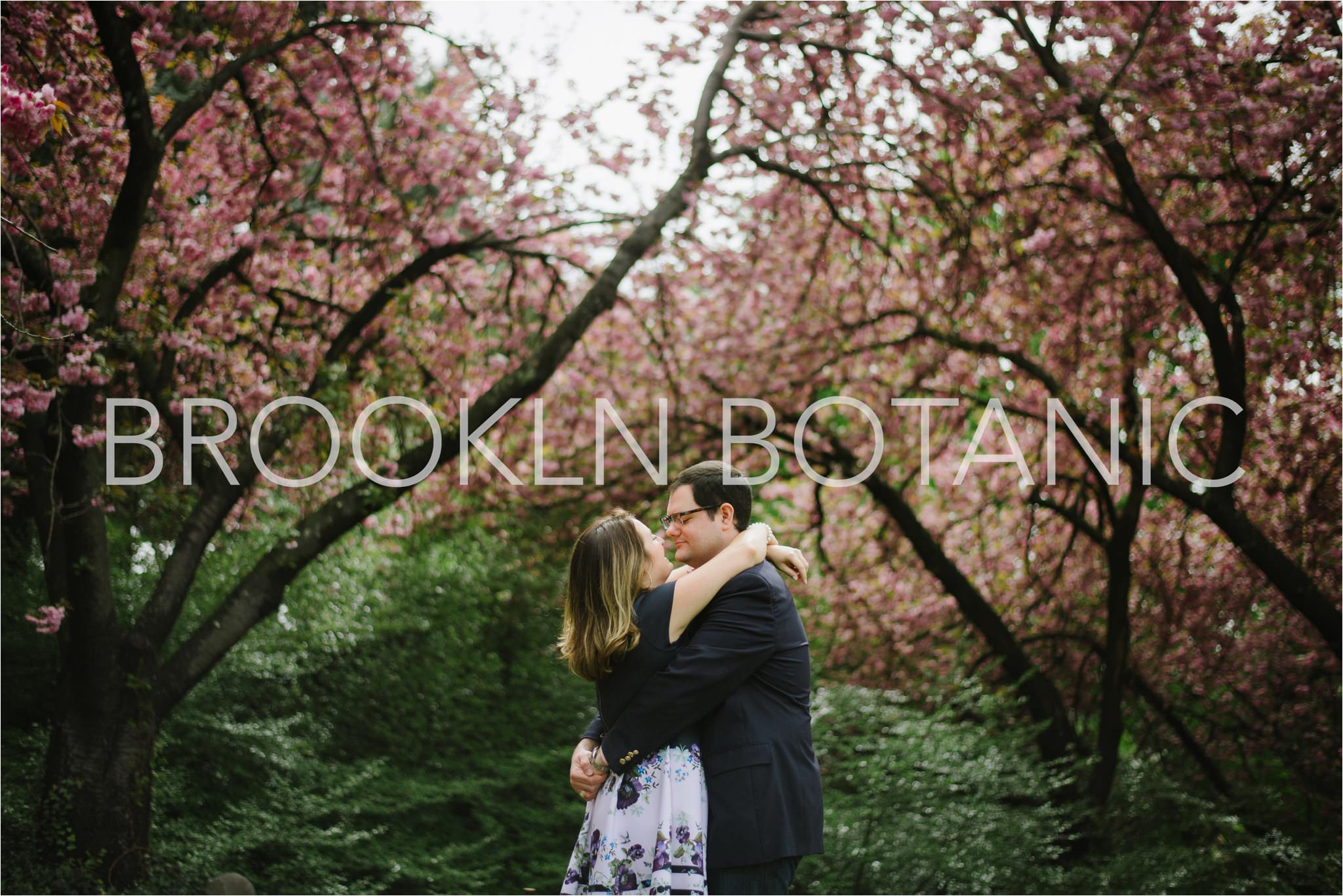 NYC Engagement Locations, Brooklyn Botanical Garden, Brian Hatton Photography