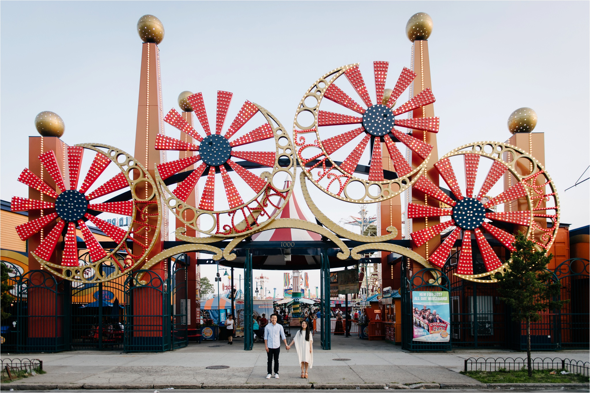 Coney Island New York City Engagement Brian Hatton Photography