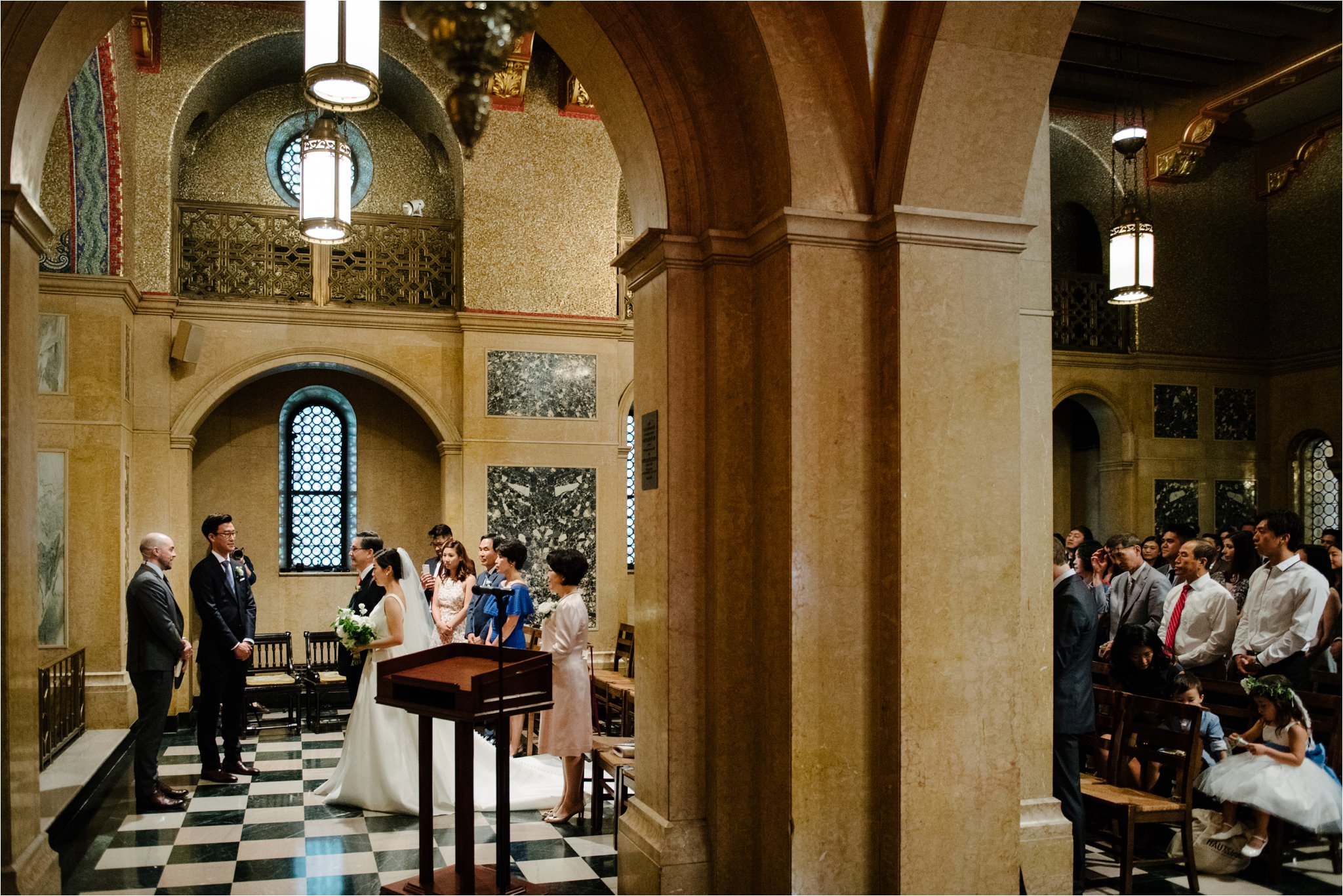 Christ Church New York City Wedding Brian Hatton Photography